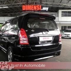 Dimensi All New Kijang Innova Grand Avanza Abs 2006 Toyota 2 0 A Tahun Dibuat Rm 31 800 Used Car