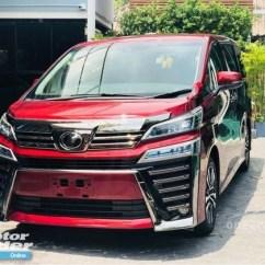 All New Toyota Vellfire 2018 Pilihan Warna Grand Avanza Facelift Conversion Exterior Body Parts Car Kits