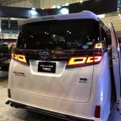 All New Alphard 2018 Facelift Mobil Kijang Innova Toyota Conversion Exterior Body Parts