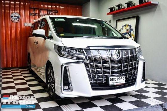 all new alphard 2018 facelift harga mobil kijang innova 2017 toyota conversion exterior body parts