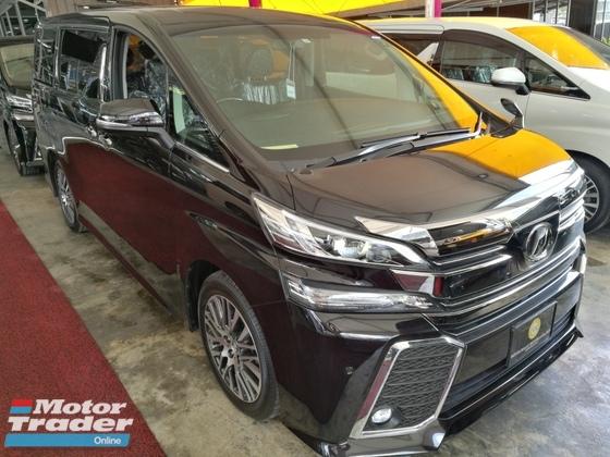all new toyota vellfire 2017 grand avanza type e 2 5 zg big monitor stock condition like car
