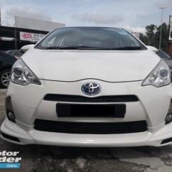 Toyota Yaris Trd Sportivo 2014 Harga New 2018 2013 Prius C 1 5 Hybrid A Rm 34 900 Used