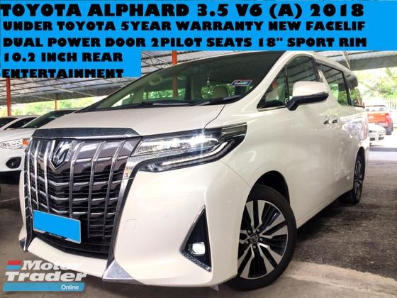 all new alphard 2018 facelift toyota yaris hatchback trd 3 5 v6 a mpv year warranty under