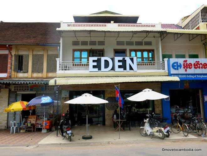 Cafe Eden Battambang