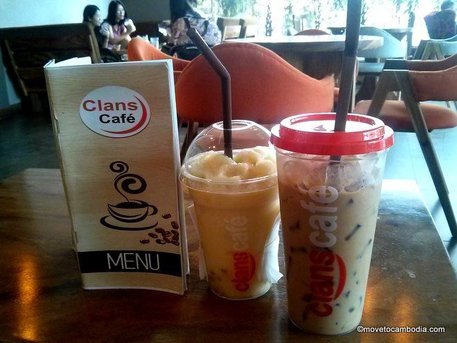 Clans Cafe coffee Sihanoukille