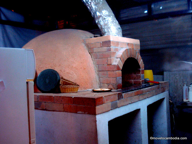 Italian House wood fired oven