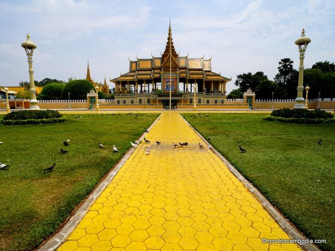 Phnom Penh sightseeing Royal Palace