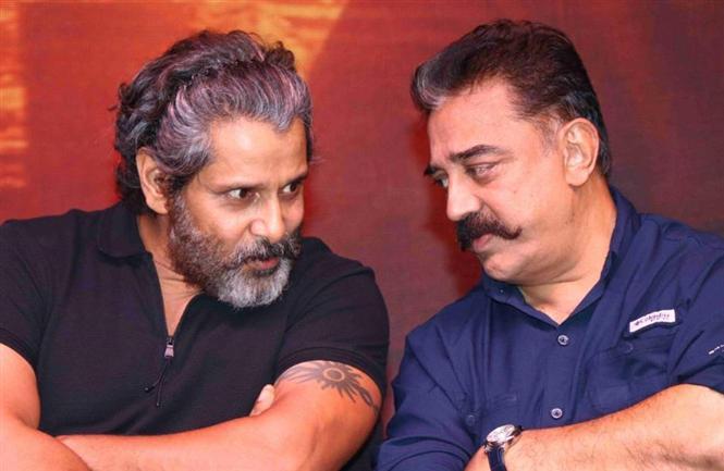Vikram in Kamal Haasan's Marudhanayagam!? Tamil Movie, Music ...