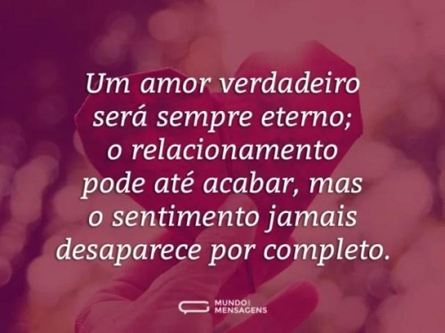 O verdadeiro amor nunca esquecemos por completo