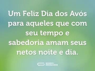 Mensagem de 'Feliz Dia dos Avós' para WhatsApp 3