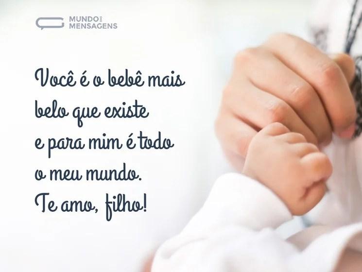 Confira e compartilhe a alegria de viver essa linda experiência. Mensagens Para Filho Bebe Mundo Das Mensagens