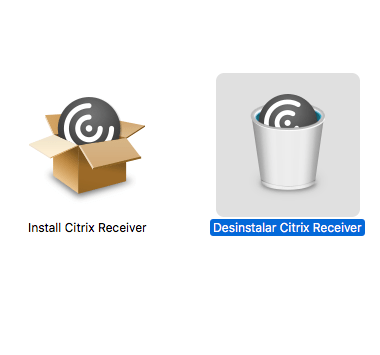 desinstalar citrix receiver mac