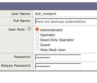 crear usuario ironport