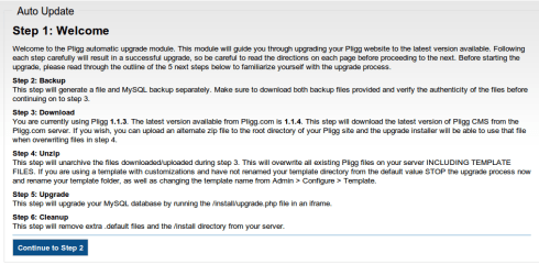 pligg auto  update 1