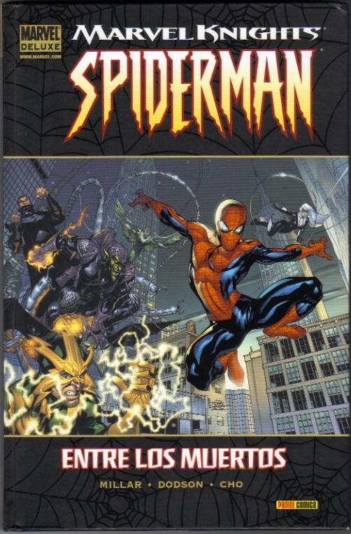 spiderman entre los muertos marvel 2012