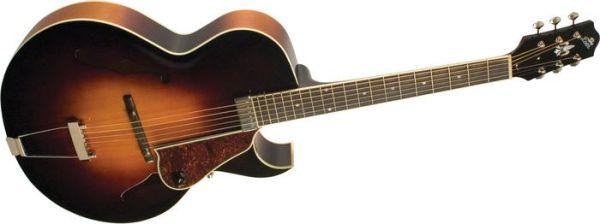 The Loar Lh-350 Archtop Cutaway Acoustic Guitar Sunburst