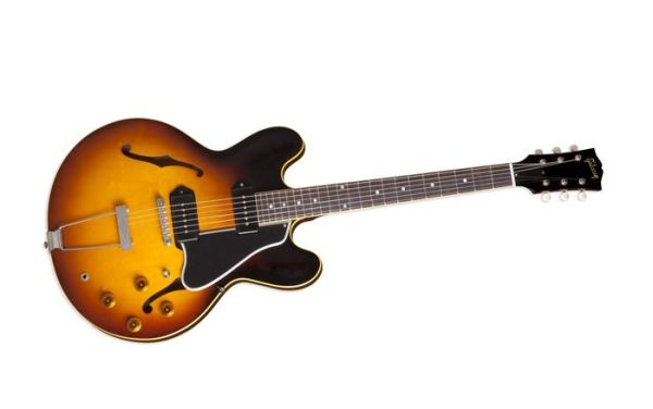 Gibson Es-330 Electric Guitar Vintage Burst