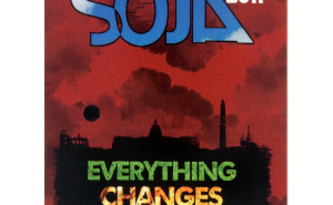 Soja Everything Changes Sticker Shop The Soja Official Store