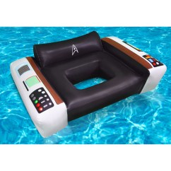 Chair Pool Floats Game Amazon Star Trek Captains Float Shop The