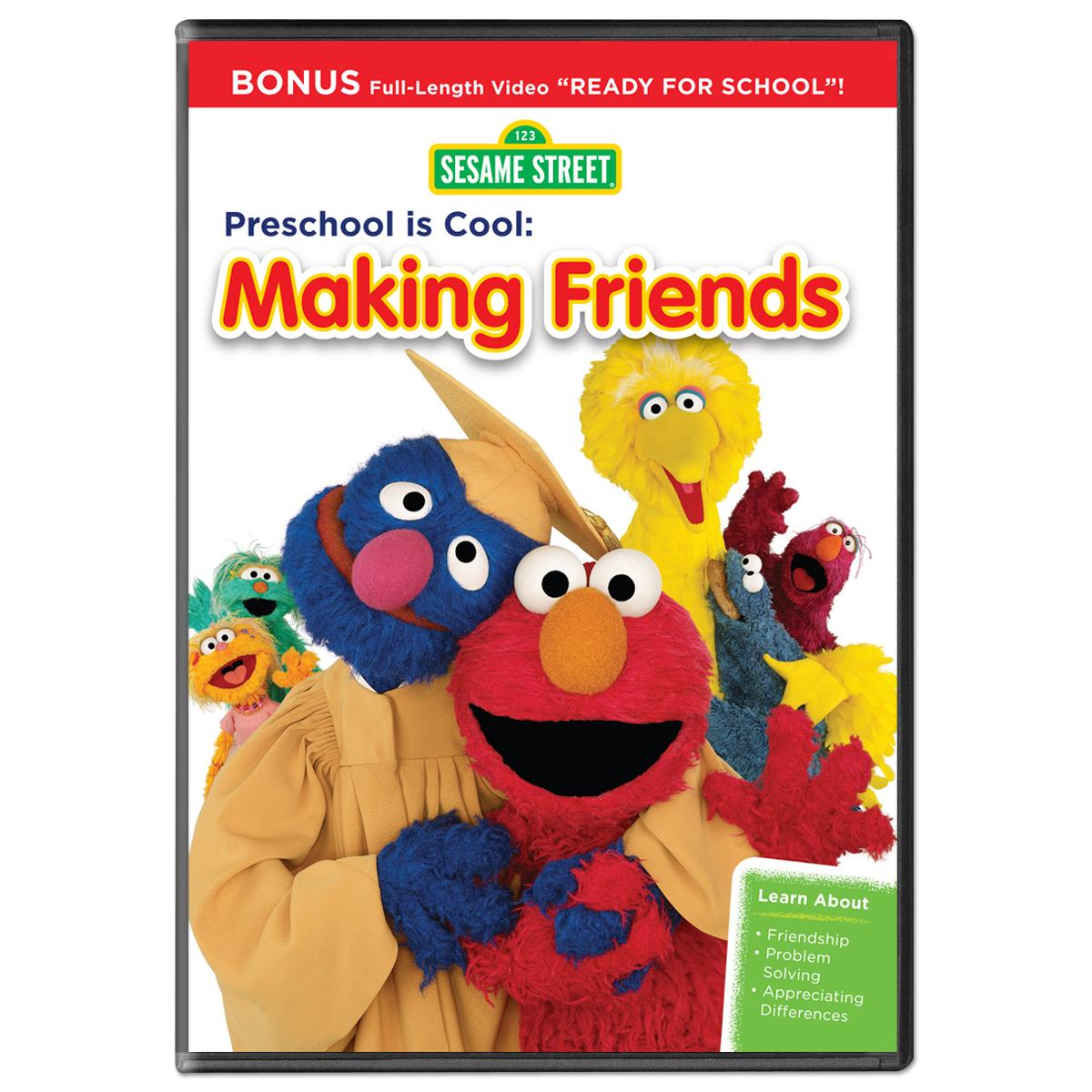 Sesame Street Preschool Is Cool Making Friends Dvd