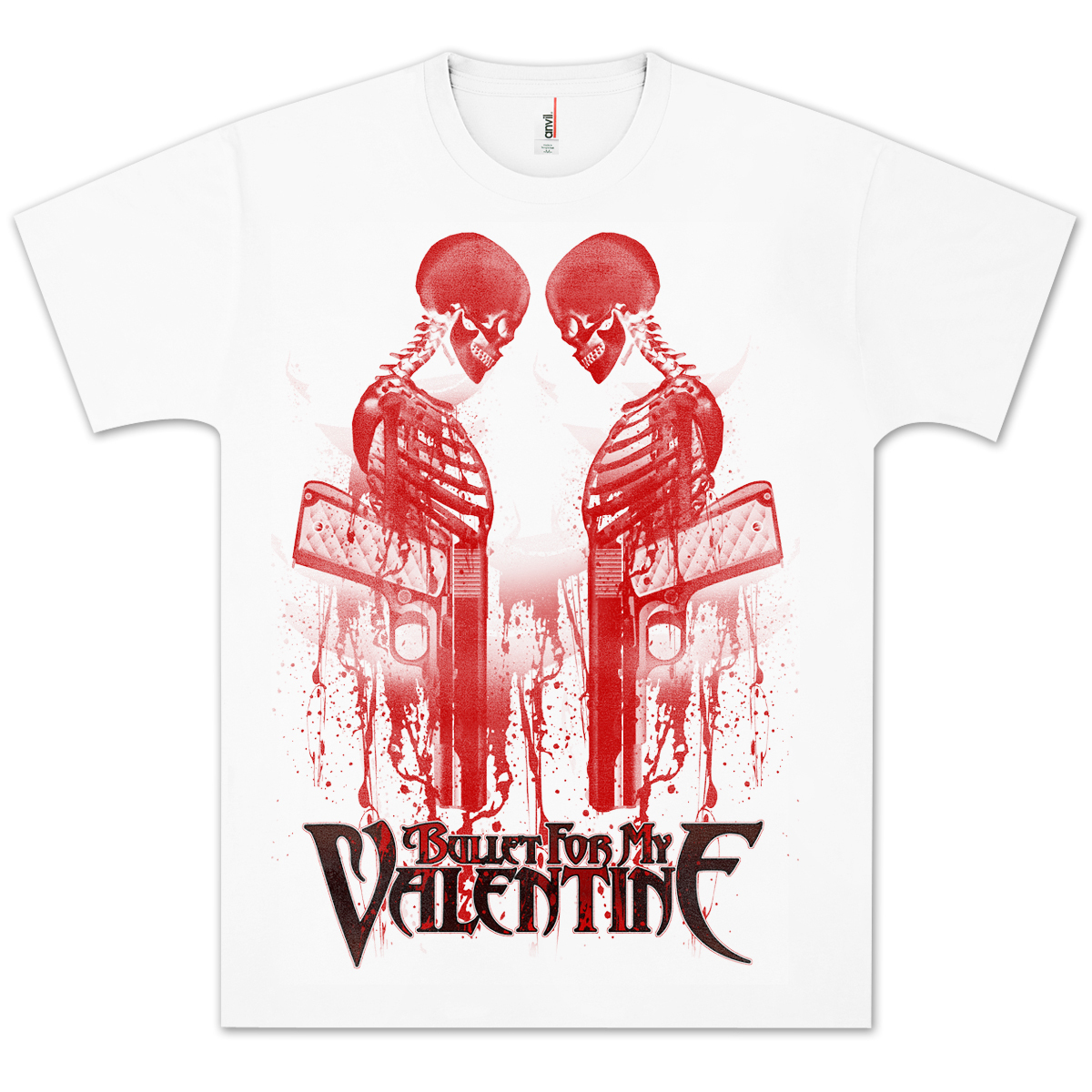 Bullet For My Valentine Revolver T Shirt Shop The