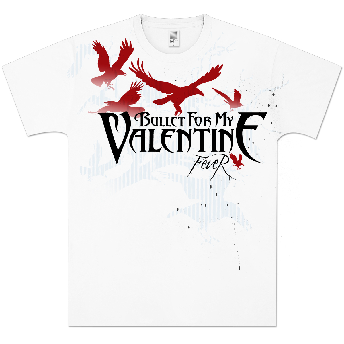 Bullet For My Valentine Fever T Shirt Shop The