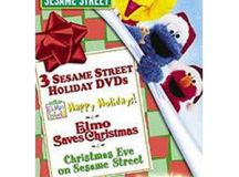 Happy Holidays From Sesame Street! (3 DVD Gift Set ...