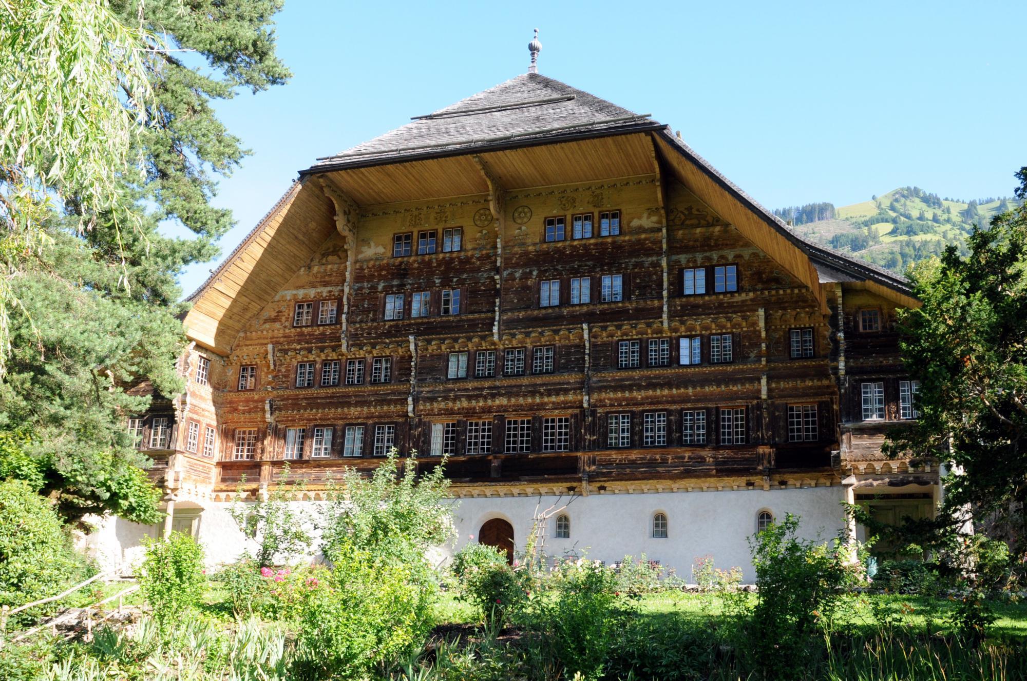 Grand Chalet De Rossiniere Pays D Enhaut Switzerland