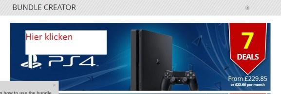 PS4 Bundle Creator