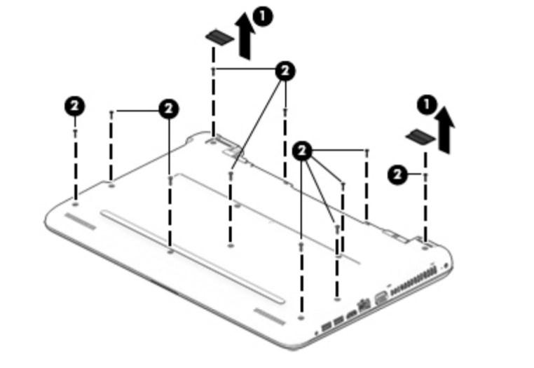 HP 15-ba022ng (15,6 FHD matt, AMD A6-7310, 4GB RAM, 500GB