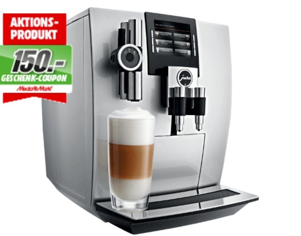 Jura 15038 J90 Kaffeevollautomat Brillantsilber + 150€ Geschenk