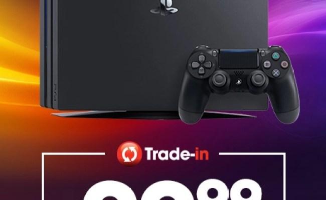 Gamestop Trade In Playstation 4 Pro Für 99 99 Bei