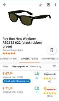 Ray Ban Angebote & Deals  November 2018 - mydealz.de