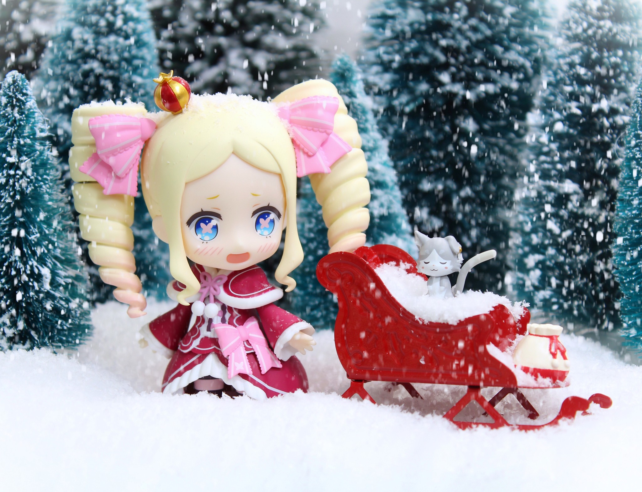 """""""I'm going out to play in the snow with Bubby, I suppose."""" 