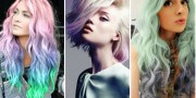 fake pastel-dyed hair in four easy