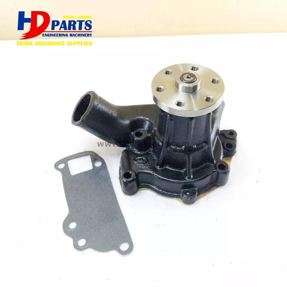 medium resolution of 6bd1 engine water pump 6 holes for isuzu engine parts