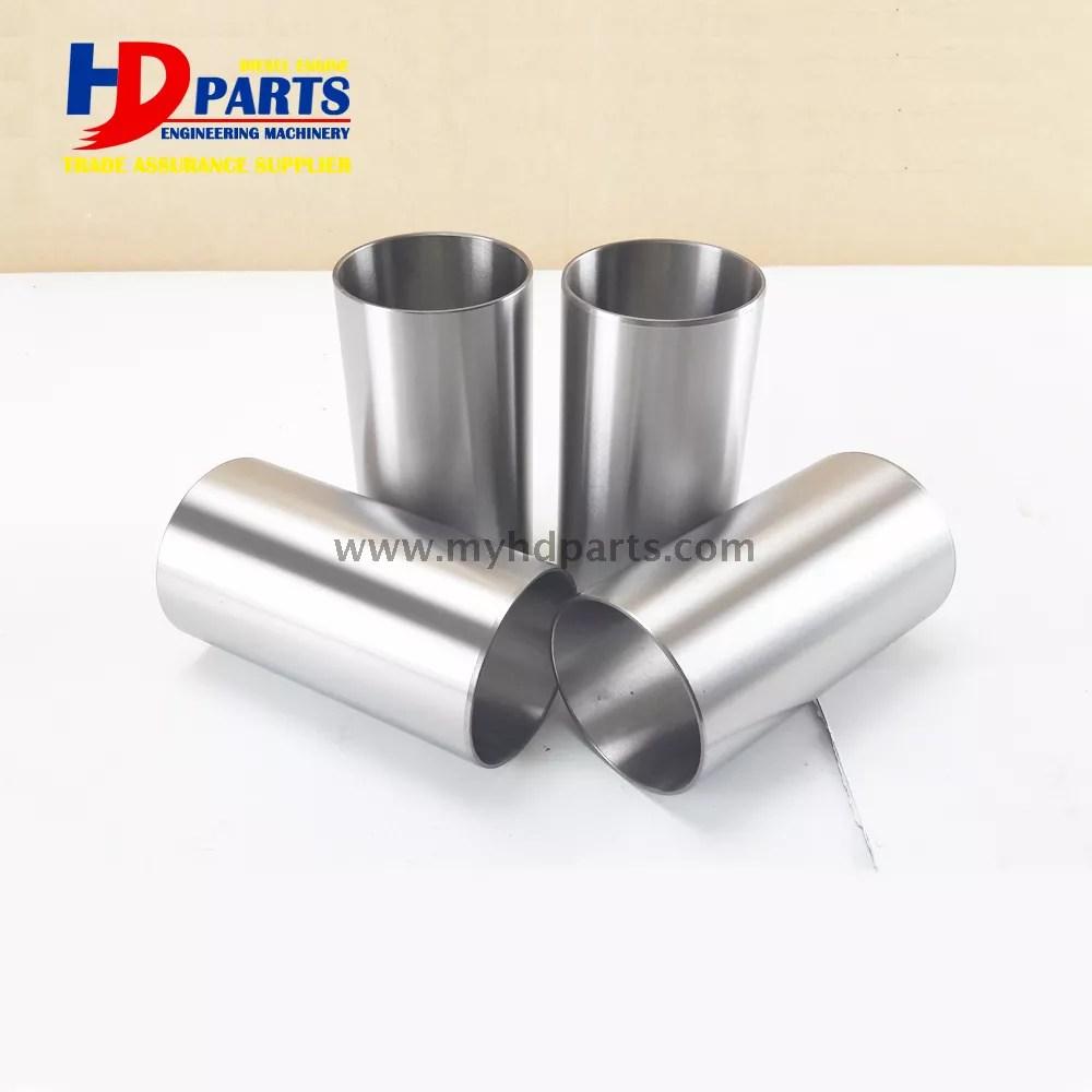 hight resolution of diesel engine parts v1505 engine liner for kubota diesel cylinder liner sleeve
