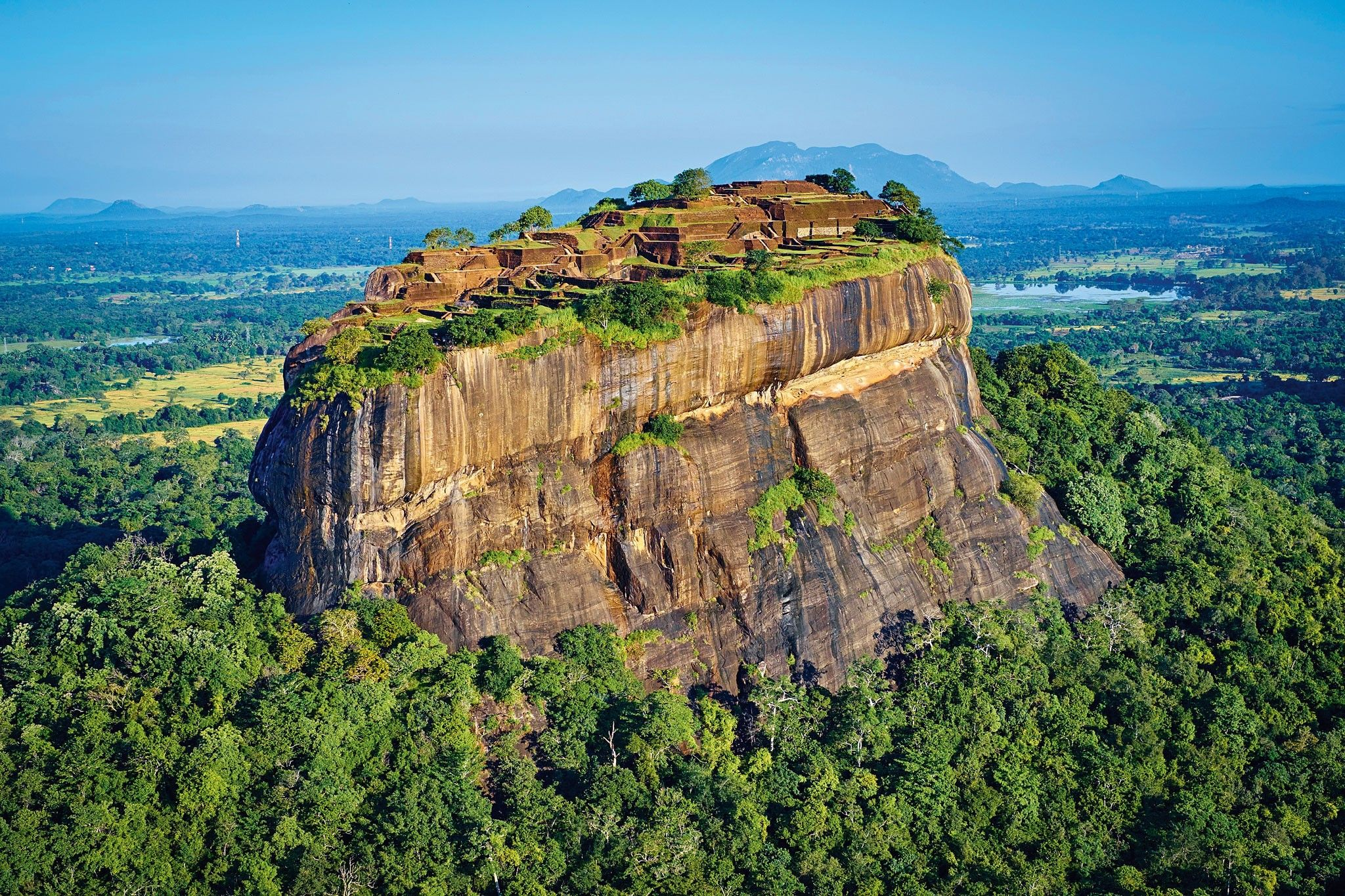 The Lion Fortress Of Sri Lanka Was Swallowed By The