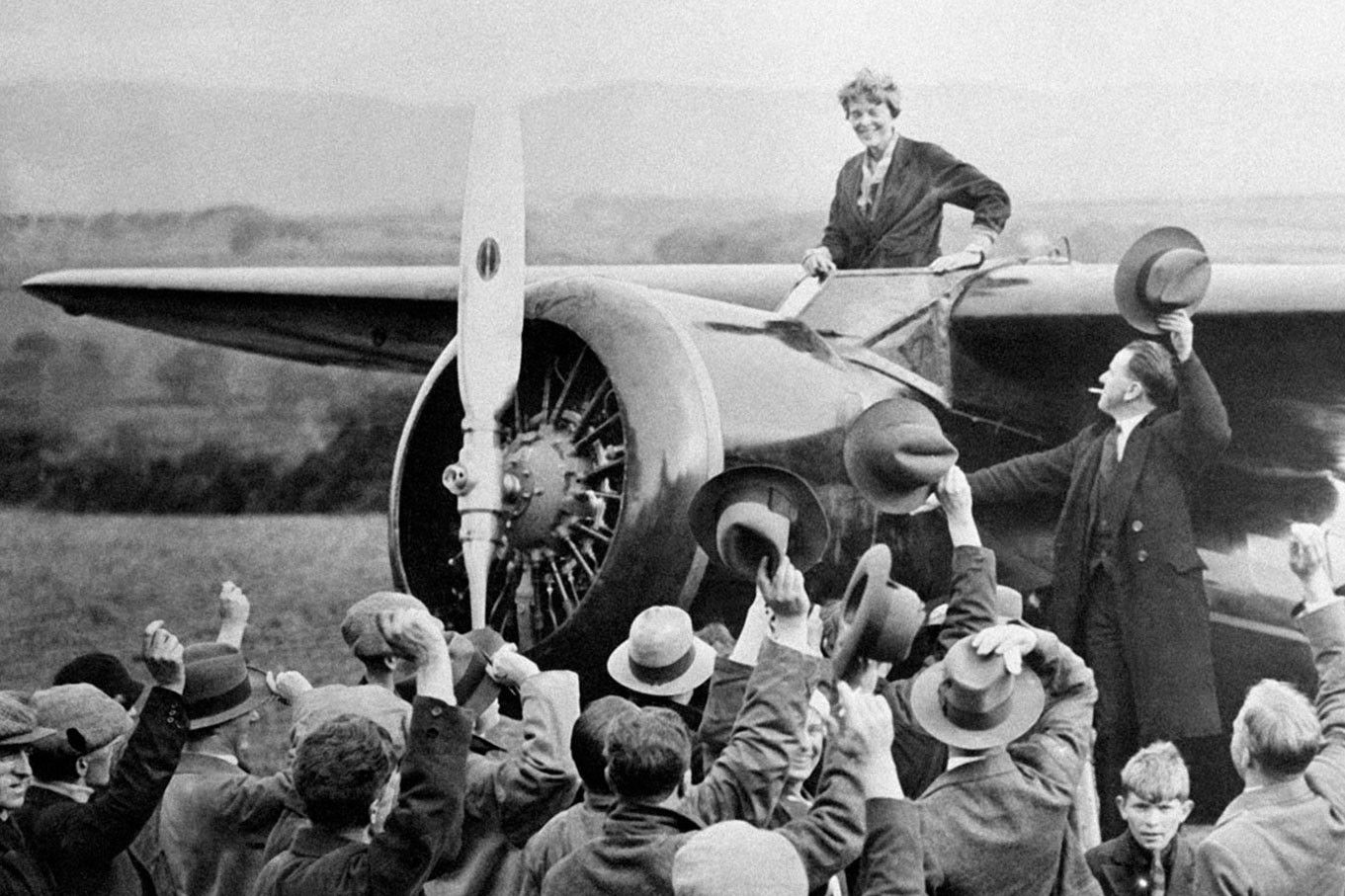 Excerpt How Amelia Earhart Navigated The Skies And