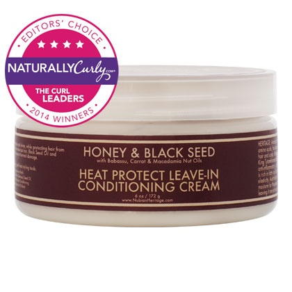 nubian heritage honey black seed heat protect leave in conditioning cream naturallycurly