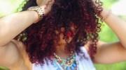 dye natural hair bright