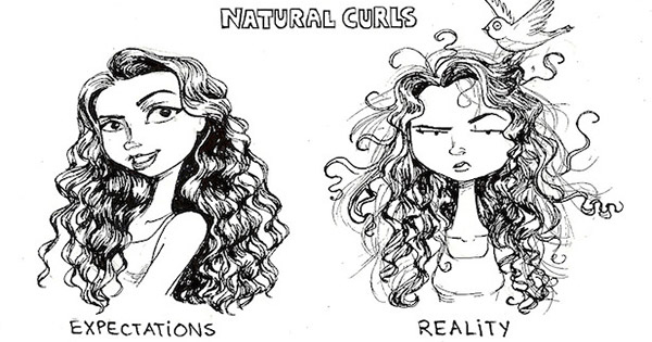 Hair Expectations Vs Reality This Artist Just Gets Us