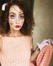 amazing curly halloween costume