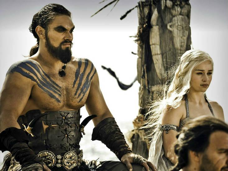 Khal Drogo Khaleesi Daenerys