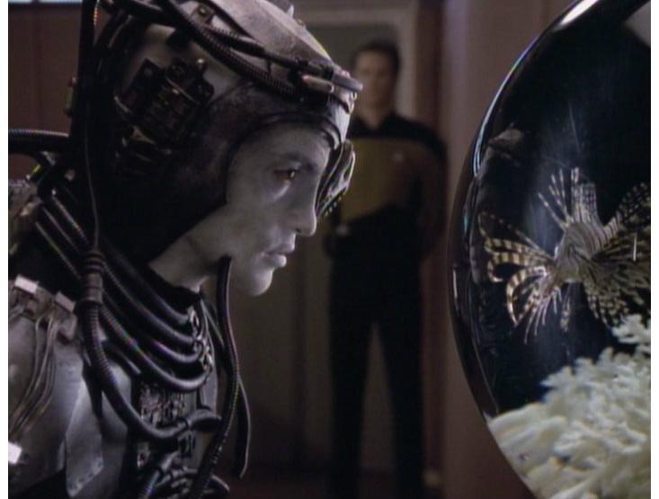 Hugh and Livingston fish Picard Borg