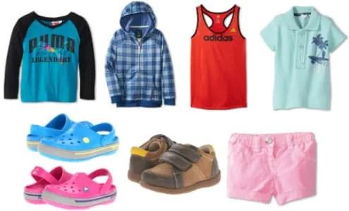 Kids clothes and crocs