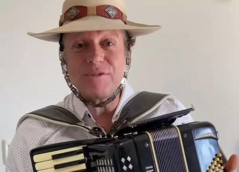 Airton Machado, leader of the band Garotos de Ouro –  Photo: Reproduction/ND