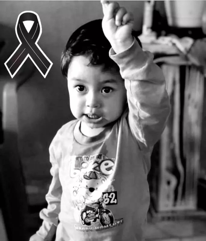 Brayan de apenas 2 anos morreu após ser picado no pescoço por um bicho peçonhento – Foto: Reprodução/Internet/ND
