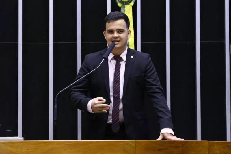 Deputado federal Junio Amaral (PSL-MG) apresenta projeto para vetar candidaturas de pessoas que tenham cumprido pena privativa de liberdade – Foto: Najara Araújo/Câmara dos Deputados