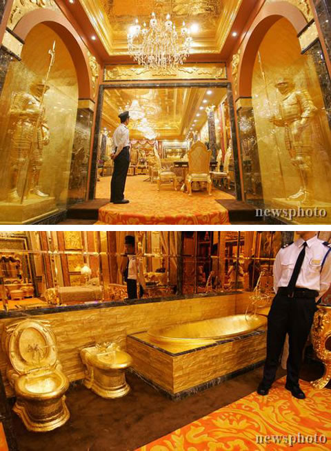 The Golden House in Hong Kong  Neatorama